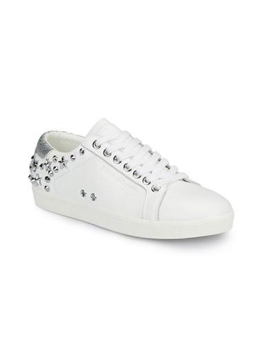 Mavi Ayakkabı Beyaz